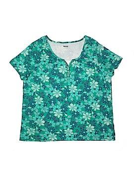 Basic Editions Short Sleeve Top Size XXL