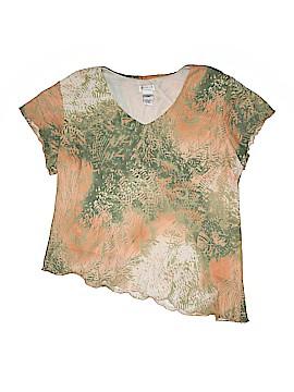 Dress-U By Sharon Short Sleeve Blouse Size 2X (Plus)