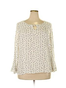 Spense Long Sleeve Blouse Size 1X (Plus)