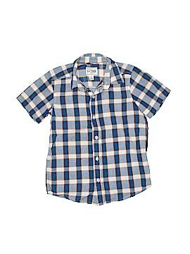The Children's Place Short Sleeve Button-Down Shirt Size 5