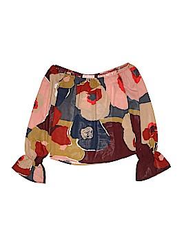 Blush Long Sleeve Blouse Size S