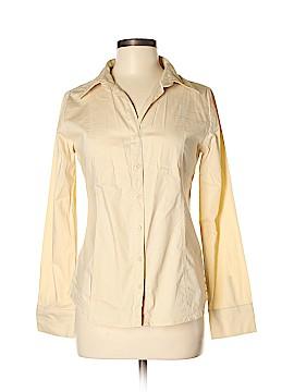 Papaya Long Sleeve Button-Down Shirt Size M
