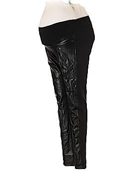 Velvet by Graham & Spencer Faux Leather Pants Size M (Maternity)