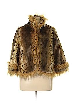 Lauren Hansen Faux Fur Jacket Size L