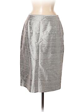 Lafayette 148 New York Silk Skirt Size 8