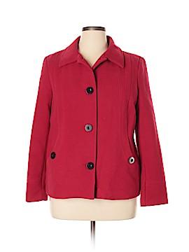 JM Collection Coat Size XL (Petite)