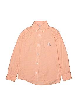 Vive La Fete Long Sleeve Button-Down Shirt Size 7