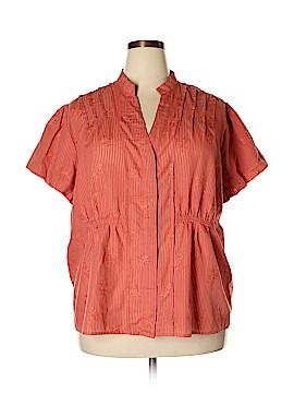 Apt. 9 Short Sleeve Button-Down Shirt Size 3X (Plus)