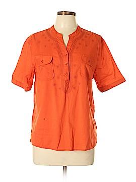 Orvis Short Sleeve Blouse Size L