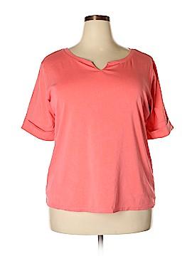 Ellen Tracy Short Sleeve Top Size 2X (Plus)