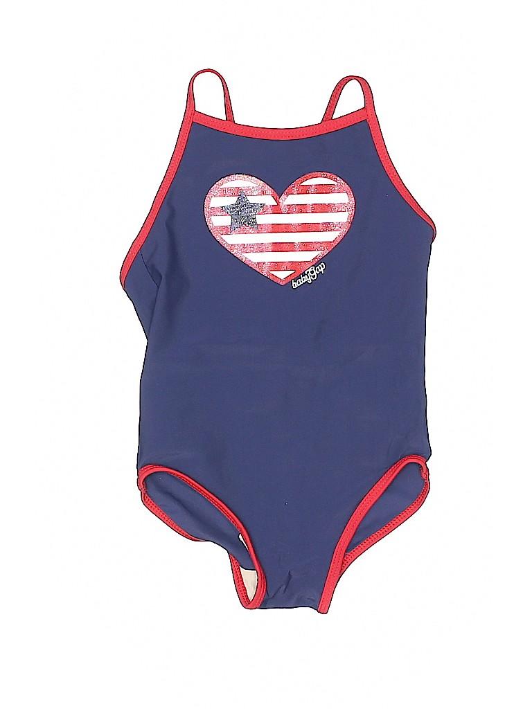 b469214b19bb2 Gap Hearts Graphic Dark Blue One Piece Swimsuit Size 2T - 84% off ...
