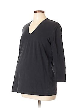 Mimi Maternity 3/4 Sleeve T-Shirt Size L (Maternity)