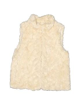 Gap Kids Faux Fur Vest Size S (Kids)