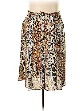 Peter Nygard Casual Skirt Size 2X (Plus)