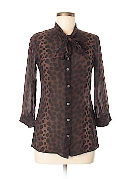 Samantha Sung 3/4 Sleeve Silk Top Size 6