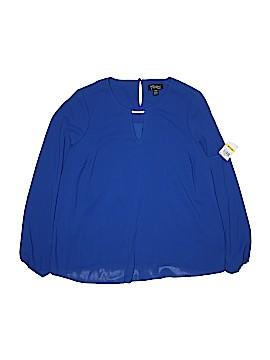 Thalia Sodi Long Sleeve Blouse Size M