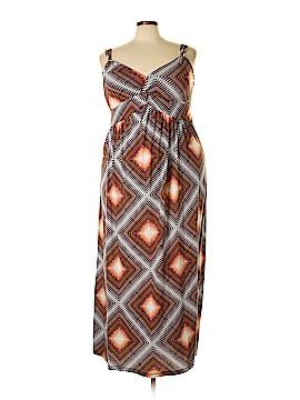 Allison Brittney Casual Dress Size 3X (Plus)