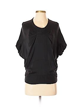 Calvin Klein Short Sleeve Silk Top Size XS