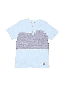 Shaun White Short Sleeve Henley Size 8 - 10