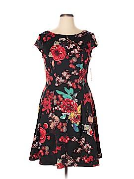 S.L. Fashions Casual Dress Size 14
