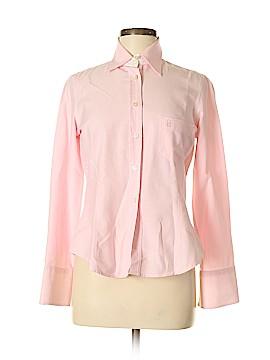 CH Carolina Herrera Long Sleeve Button-Down Shirt Size 8
