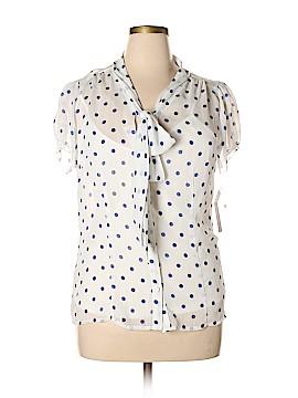 Zac & Rachel Short Sleeve Blouse Size XL