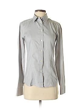 Calvin Klein Collection Long Sleeve Button-Down Shirt Size 4