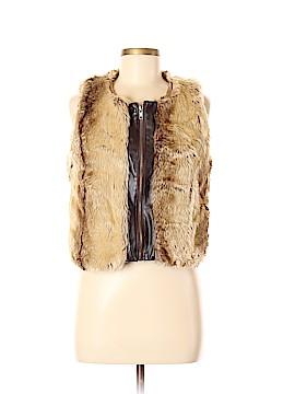 TCEC Faux Fur Vest Size M