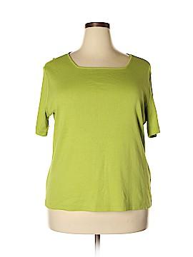 Casual Corner Annex Short Sleeve T-Shirt Size 2X (Plus)