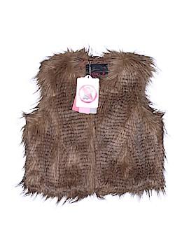 New York Faux Fur Vest Size 7