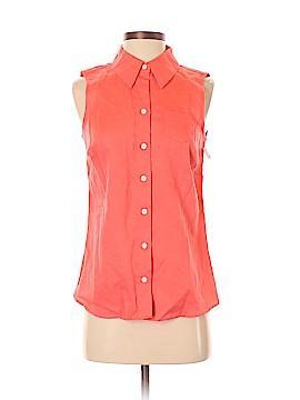 Isaac Mizrahi for Target Sleeveless Button-Down Shirt Size S