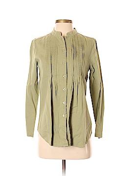 Chadwicks Long Sleeve Button-Down Shirt Size S