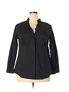 I.N. Studio Long Sleeve Blouse Size 3X (Plus)