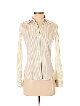 Theory Long Sleeve Button-Down Shirt Size P (Petite)