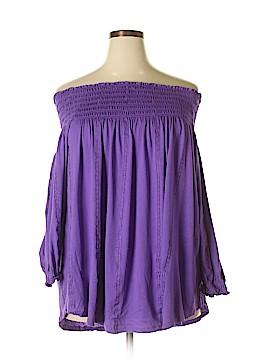 Ralph Lauren 3/4 Sleeve Top Size 2X (Plus)