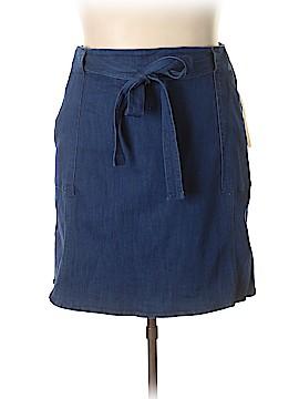 RACHEL Rachel Roy Denim Skirt Size 24 (Plus)
