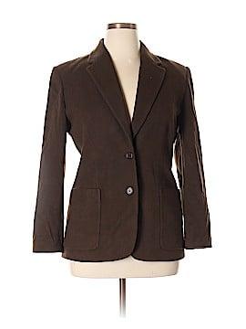 Kate Hill Wool Blazer Size 14 (Petite)