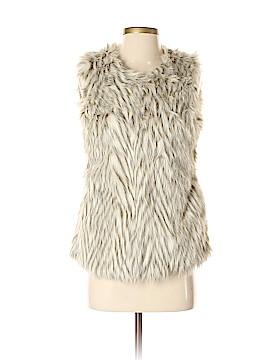 Say What? Faux Fur Vest Size S