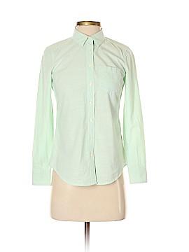 Banana Republic Factory Store Long Sleeve Button-Down Shirt Size XXS