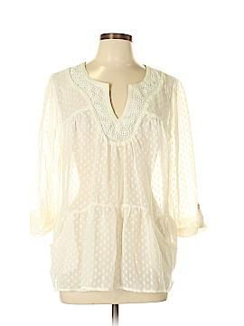 Daniel Rainn 3/4 Sleeve Blouse Size L