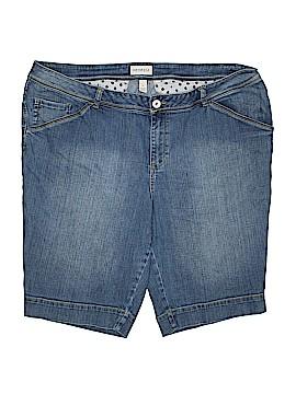 Venezia Denim Shorts Size 26 (Plus)