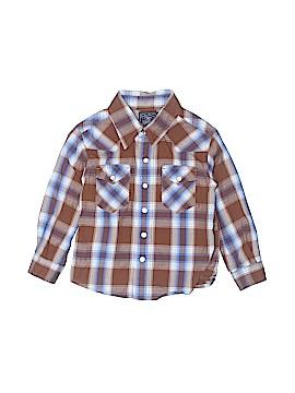 Lucky Brand Long Sleeve Button-Down Shirt Size 2