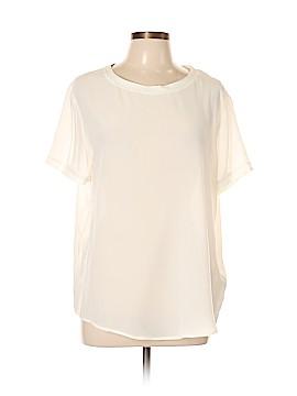 Joe Fresh Short Sleeve Silk Top Size L