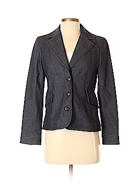 Kasper Denim Jacket Size 4 (Petite)