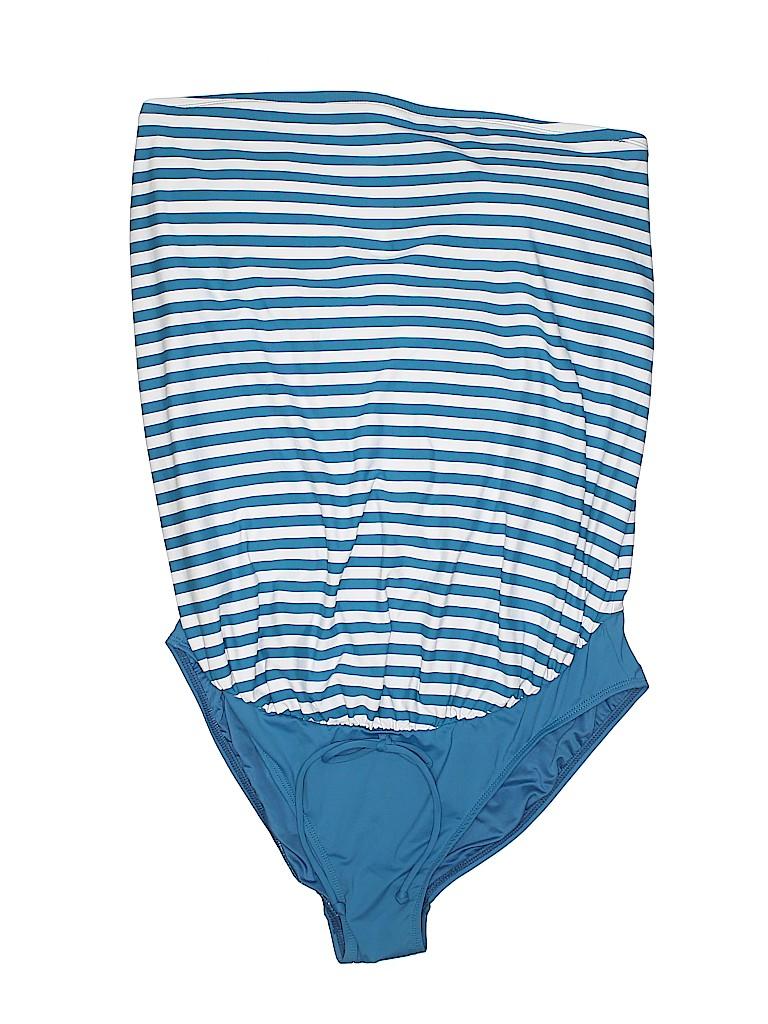 Ann Taylor LOFT Women One Piece Swimsuit Size 12 (Maternity)