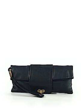 Helena De Natalio Leather Clutch One Size