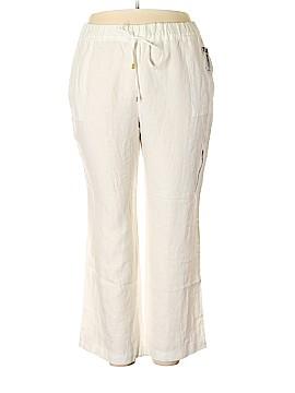 Company Ellen Tracy Linen Pants Size XXL