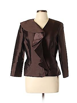 Sara Campbell Silk Blazer Size 12