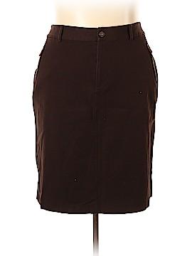 Lauren by Ralph Lauren Denim Skirt Size 20 (Plus)