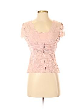 Apt. 9 Short Sleeve Blouse Size S (Petite)